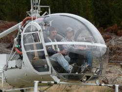 Hiller UH12 - Training in own helicopter