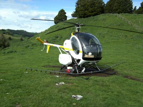 Agriculture heli training with heli hunt and fish