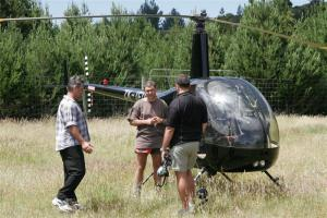 Helicopter training with Heli Hunt n Fish, Taupo